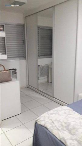Apartamento no Condomínio Garden Goiabeiras com 3 dormitórios à venda, 67 m² por R$ 275.00 - Foto 6
