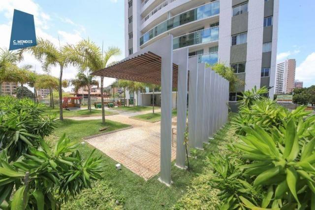 Apartamento com 3 dormitórios à venda, 71 m² por R$ 455.000,00 - Cocó - Fortaleza/CE - Foto 12