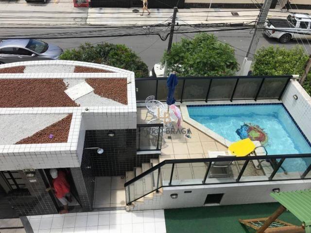 Apartamento com 3 dormitórios à venda, 76 m² por R$ 340.000 - Jatiúca - Maceió/AL - Foto 16