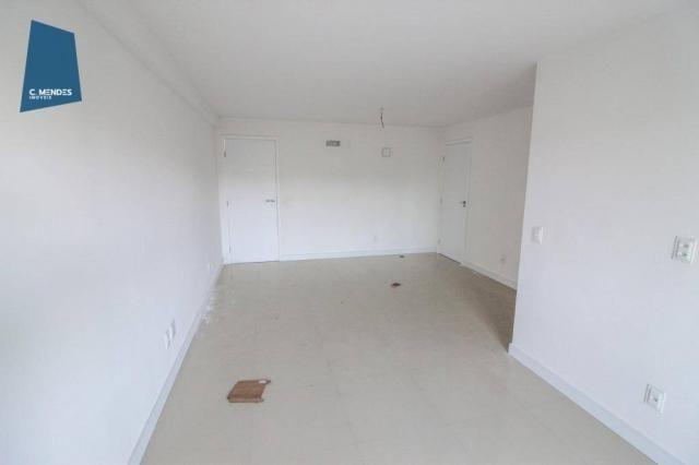 Apartamento para alugar, 105 m² por R$ 2.300,00/mês - Jardim das Oliveiras - Fortaleza/CE - Foto 3