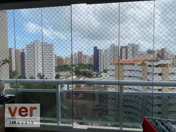 Apartamento com 3 dormitórios à venda, 91 m² por R$ 850.000,00 - Aldeota - Fortaleza/CE - Foto 5
