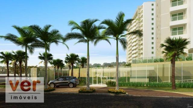 Apartamento com 3 dormitórios à venda, 80 m² por R$ 599.000,00 - Cambeba - Fortaleza/CE - Foto 2