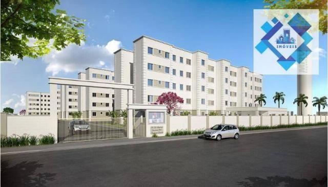 Apartamento / 2 Quartos - Área total: 44,90 /Maraponga.