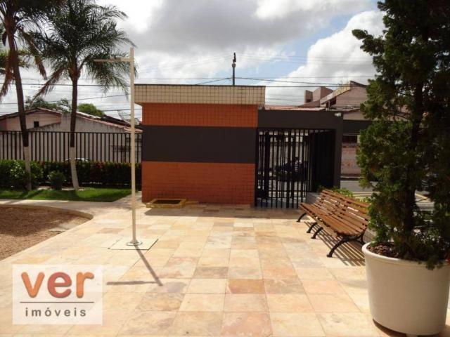 Apartamento com 3 dormitórios para alugar, 74 m² por R$ 800,00/mês - Messejana - Fortaleza - Foto 4