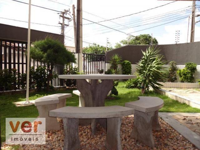 Apartamento com 3 dormitórios para alugar, 74 m² por R$ 800,00/mês - Messejana - Fortaleza - Foto 3