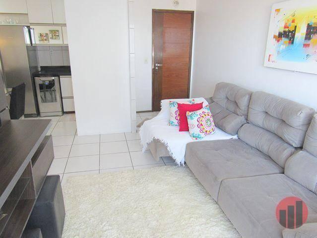 Apartamento com 3 dormitórios para alugar, 63 m² por R$ 1.900/mês - Mucuripe - Fortaleza/C - Foto 13