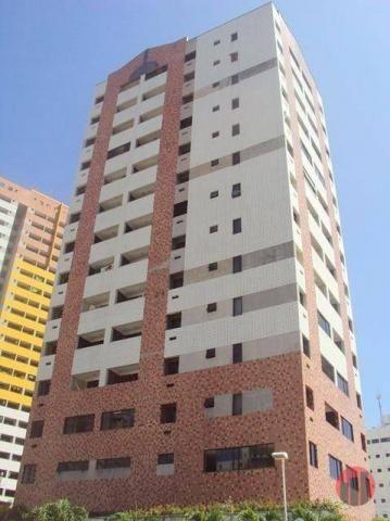 Apartamento com 1 dormitório para alugar, 47 m² por R$ 1.000,00/mês - Praia de Iracema - F