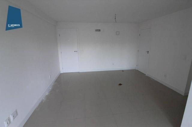 Apartamento para alugar, 105 m² por R$ 2.300,00/mês - Jardim das Oliveiras - Fortaleza/CE - Foto 6