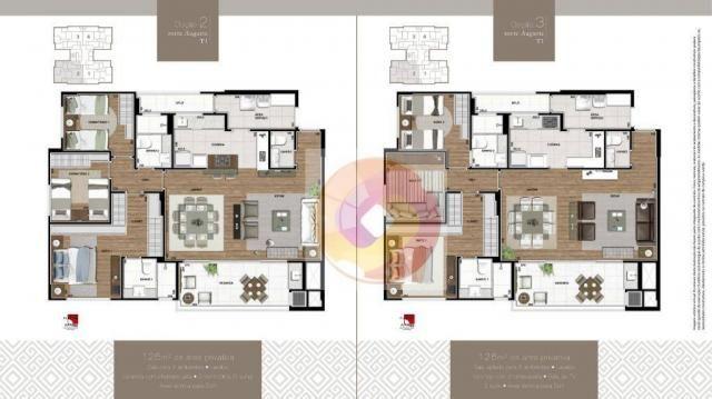 Apartamento com 3 dormitórios à venda, 106 m² por R$ 784.742,00 - Boa Vista - Curitiba/PR - Foto 8