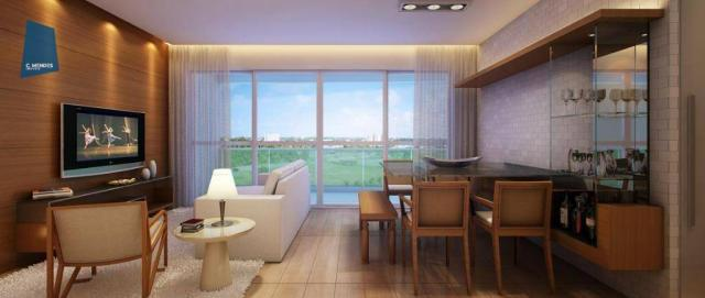 Apartamento com 3 dormitórios à venda, 71 m² por R$ 455.000,00 - Cocó - Fortaleza/CE - Foto 14