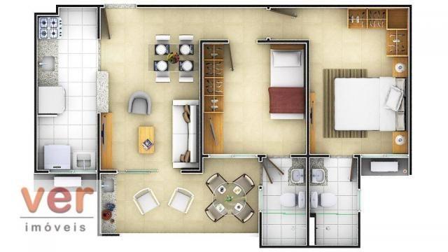 Apartamento à venda, 52 m² por R$ 179.000,00 - Lagoa Redonda - Fortaleza/CE - Foto 8