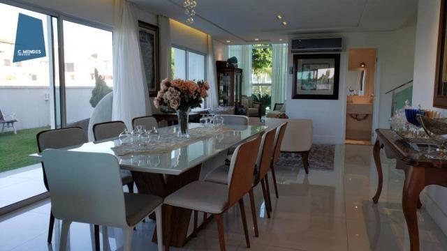 Casa no Alphaville Fortaleza com 4 dormitórios à venda, 310 m² por R$ 1.800.000 - Cararu - - Foto 12