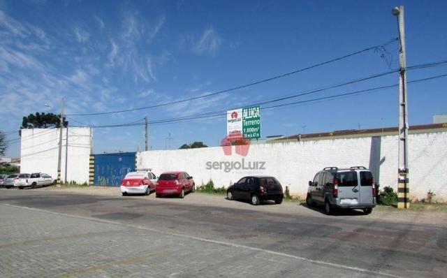 Terreno de Esquina para Locação no bairro Pinheirinho - Foto 3
