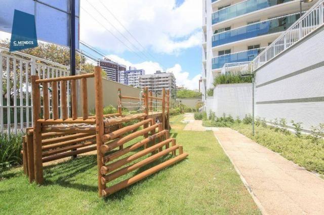 Apartamento com 3 dormitórios à venda, 71 m² por R$ 455.000,00 - Cocó - Fortaleza/CE - Foto 6