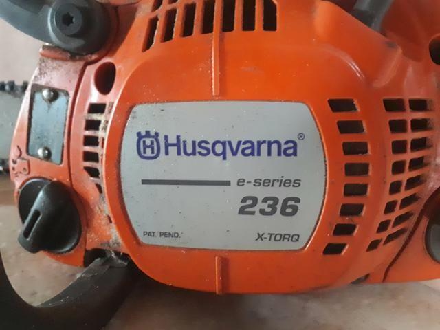 Motoserra husqvarna 236 - Foto 4