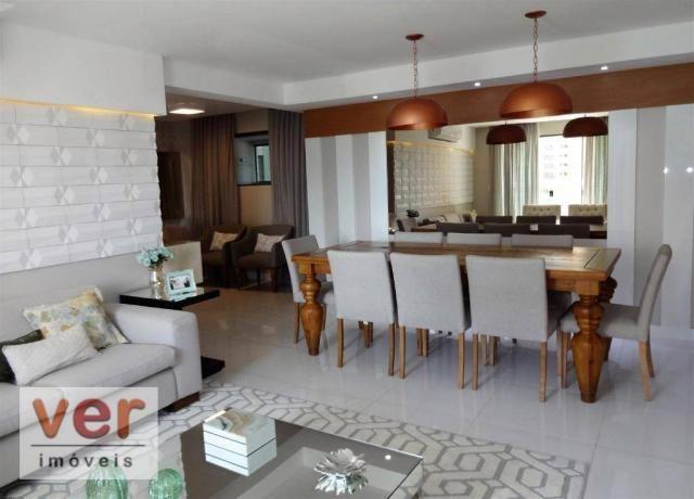 Apartamento à venda, 153 m² por R$ 800.000,00 - Engenheiro Luciano Cavalcante - Fortaleza/ - Foto 2