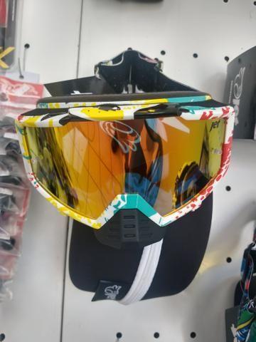 Óculos jet com proteção nazal