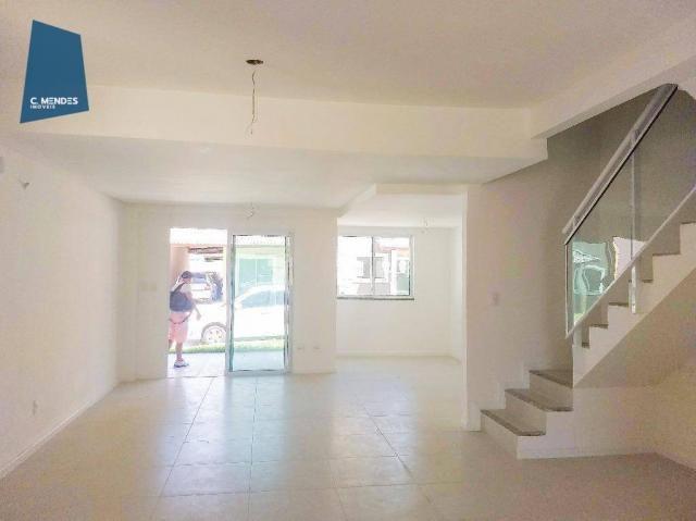 Casa Duplex 124 m² para locação, semi-mobiliada 3 suites 3 vagas, condominio, Jacundá, Eus - Foto 2