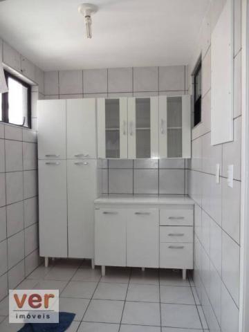 Apartamento com 3 dormitórios para alugar, 74 m² por R$ 800,00/mês - Messejana - Fortaleza - Foto 20