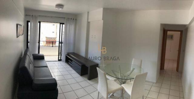 Apartamento com 3 dormitórios à venda, 76 m² por R$ 340.000 - Jatiúca - Maceió/AL - Foto 3