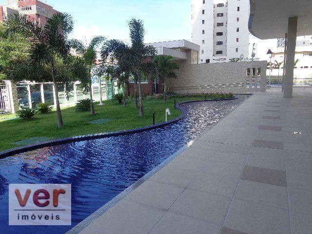 Apartamento à venda, 130 m² por R$ 1.165.398,49 - Cocó - Fortaleza/CE - Foto 4