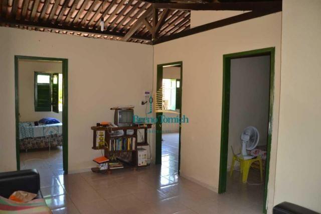 Casa com 3 dormitórios à venda, 91 m² por R$ 180.000 - Centro - Santa Cruz Cabrália/BA - Foto 3