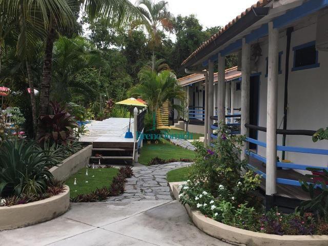 Pousada à venda, 900 m² por r$ 1.800.000 - cidade alta - santa cruz cabrália/ba - Foto 3