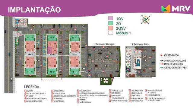 Duque de Caxias - Antecipe se apartamento 2 Qrto(1 SUÍTE) com varanda -ótima localização - Foto 10