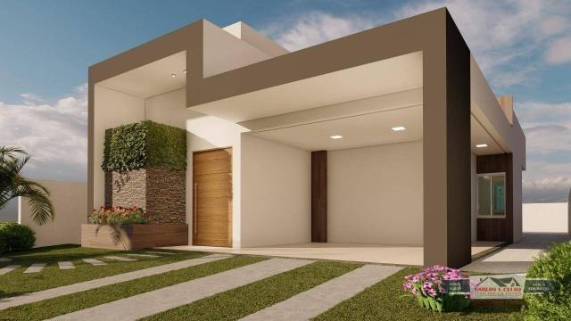 Casa com 3 dormitórios à venda, 185 m² por R$ 450.000,00 - Salgadinho - Patos/PB - Foto 2