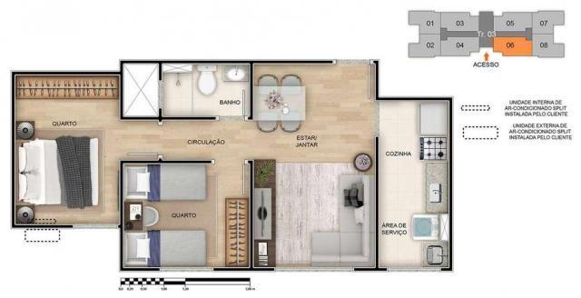 Spazio Montecarlo - Apartamento de 2 quartos na Região do Jardim América, Maringá - PR - I - Foto 18