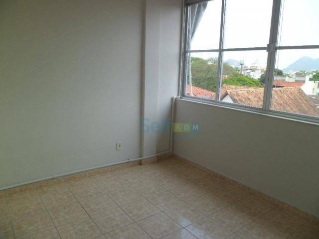 Apartamento com 1 dormitório para alugar, 36 m² - São Francisco - Niterói/RJ - Foto 4