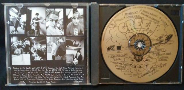 CD da banda Green Day - Dookie (original) - Foto 4