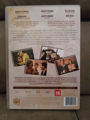 DVD (filme): Paris, te amo - Foto 3