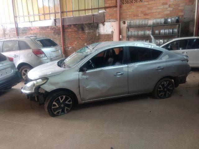 Sucata Nissan Versa 2016/2017 1.6 Flex Automático - Foto 2