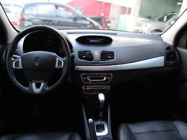 Renault Fluence 2.0 Dynamique Automático 16V Flex 4p Completo - Ano 2012*Aceito troca - Foto 7