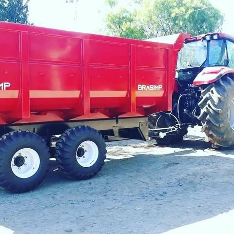 Carreta agrícola brasimp 8 toneladas - Foto 5
