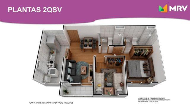 Duque de Caxias - Antecipe se apartamento 2 Qrto(1 SUÍTE) com varanda -ótima localização - Foto 4