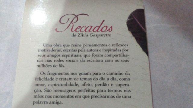 Livro - Recados de Zibia Gasparetto - Foto 2