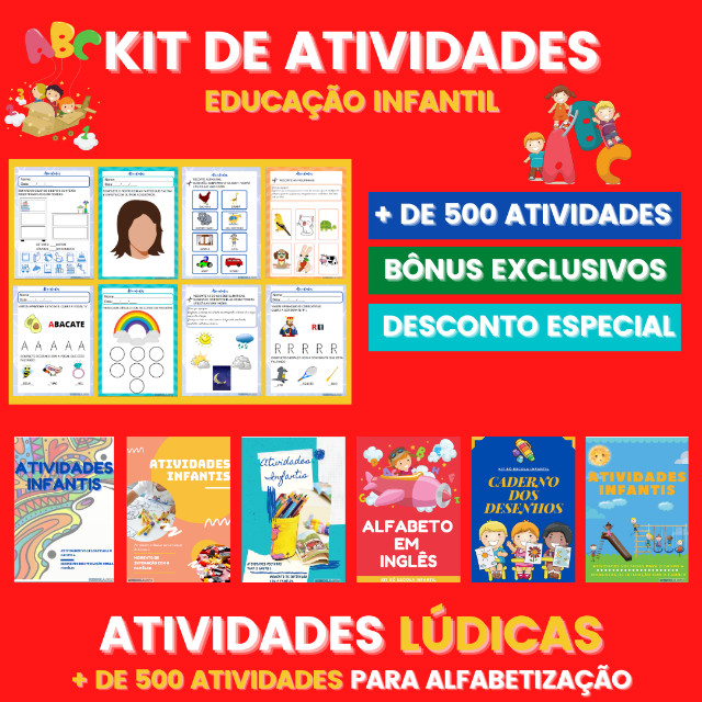 .:: Kit de Atividades ::. Kit Infantil - Foto 4