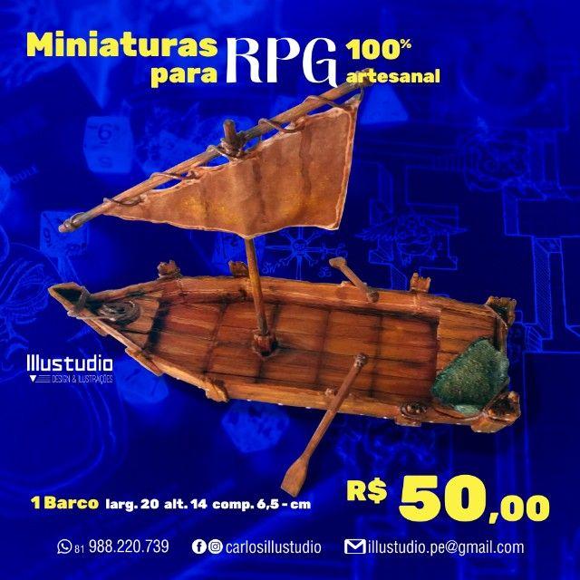 Miniaturas RPG 100% artesanal para compor sua mesa épica - Foto 5