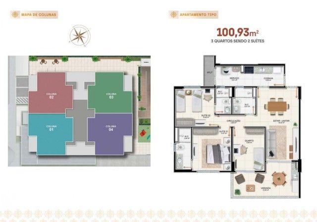 Apartamento à venda, RAVELLO RESIDENCE no Jardim Europa Aracaju SE - Foto 8