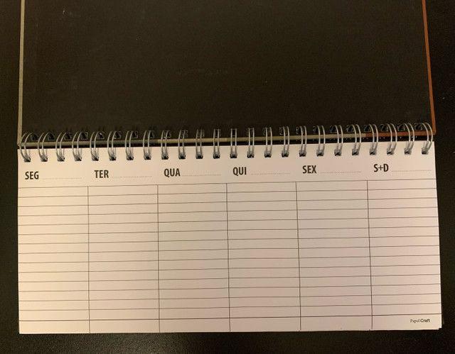 Planner semanal Papel Craft NUNCA USADO - Foto 2