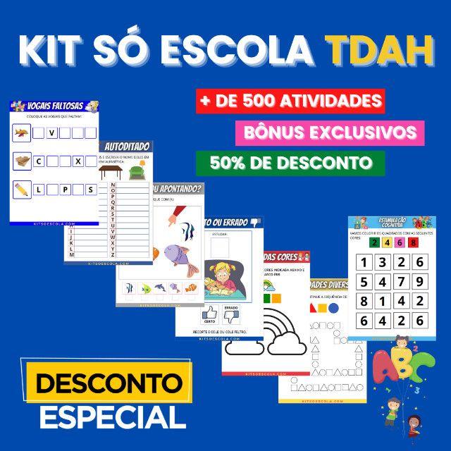 .:: Kit de Atividades ::. Kit T D A H