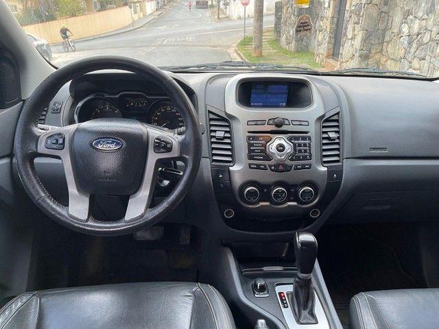 Ford Ranger 3.2 Limited Turbo diesel 4x4 Automática 2015 / Aceito trocas financio 60x - Foto 12