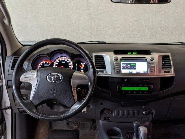 Toyota HILUX CD4X4 SRV - Foto 8