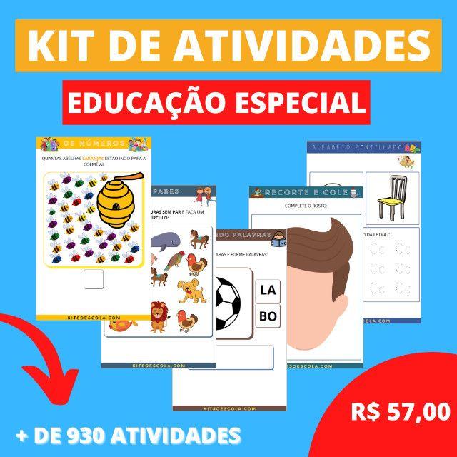 .:: Kit de Atividades :: Kit Educação Especial - Foto 4