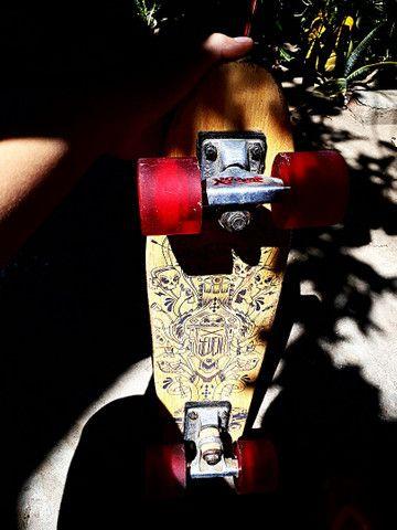 Skate Cruiser mini long  X seven Penny  - Foto 3