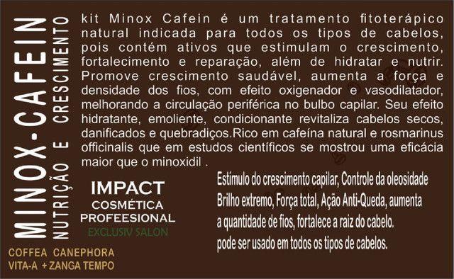 Kit Bomba Minox Cafein Shampoo + Máscara  - Foto 2