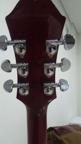 Guitarra EpiPhone Es-335 Dot Cherry - Foto 4