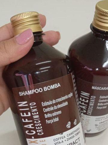 Kit Bomba Minox Cafein Shampoo + Máscara  - Foto 3
